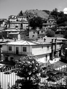 Free Village In Greece, Milea Royalty Free Stock Images - 6323379