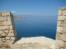 Free View From Fortezza, Rethymno Stock Photography - 6323422