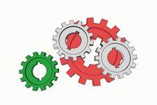 Free Cogwheels Stock Images - 6323484