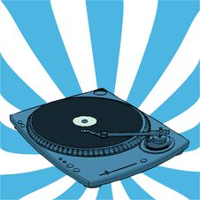 Free Turntable Stock Photography - 6323492