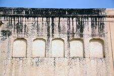 Details Of The Wall Of A Palace Royalty Free Stock Image