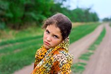 Free Portrait Girl On Nature Royalty Free Stock Image - 6323866