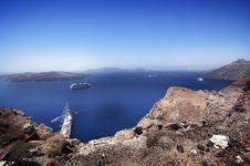 Free Santorini View Royalty Free Stock Photo - 6324325