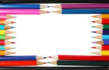 Free Rectangular Pencil Frame Stock Images - 6325134