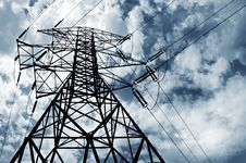 Free Electricity Pylon Stock Image - 6325181
