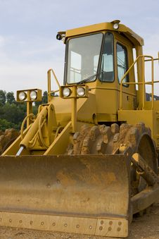 Free Soil Compactor Royalty Free Stock Photography - 6325527