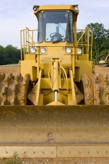 Free Soil Compactor Royalty Free Stock Photos - 6325538
