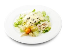 Free Caesar Salad Royalty Free Stock Photos - 6325698