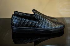 Free Black Men S Footwear Stock Images - 6325714