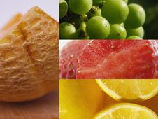 Free Fruit Collage Royalty Free Stock Images - 6326199