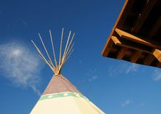 Free Indian TeePee Shelter Royalty Free Stock Photo - 6326375