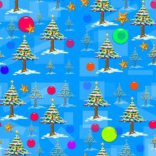 Free Christmas Decoration Seamless Stock Photos - 6327553