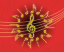 Free Music Rings Stock Photo - 6327600