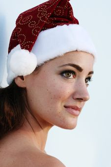 Free Isolated Christmas Portrait Stock Photography - 6327632