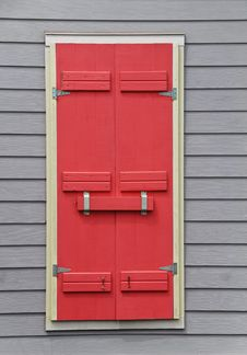 Free Storm Shutters Stock Image - 6328171