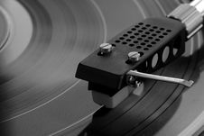 Free Old Vinyl Player Royalty Free Stock Photography - 6328487