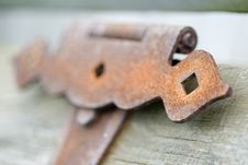 Free Rusted Chest Lock Royalty Free Stock Image - 6329096