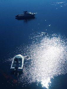 Free Boats From Above Royalty Free Stock Images - 6329269