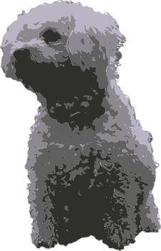 Free Vector White Dog Stock Photo - 6329790