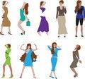 Free Fashion Girls Royalty Free Stock Photos - 6331418