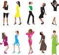 Free Fashion Girls Royalty Free Stock Photo - 6331575