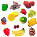 Free Isolated Fruit And Vegetables Stock Photo - 6339400