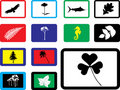 Free Set Icons - 16B. Nature Royalty Free Stock Photography - 6339717