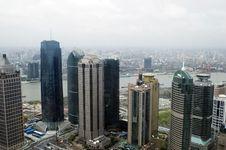 Free Shanghai Cityscape Stock Image - 6330661