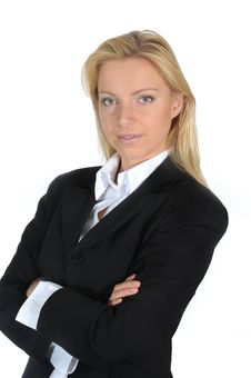 Free Business Woman Royalty Free Stock Photos - 6331578