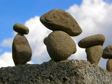 Free Figure From Stones Stock Photo - 6331870