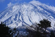 Free Mt. Fuji From Asagiri Stock Images - 6332564