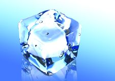 Free Ice Cubes 3d Render Royalty Free Stock Images - 6332579