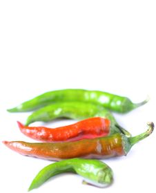 Free Hot Chili Peppers Royalty Free Stock Photos - 6333048