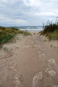 Free Path To The Baltic Sea Stock Photo - 6333530
