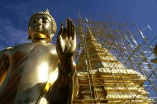 Free Golden Buddha Stock Images - 6333694
