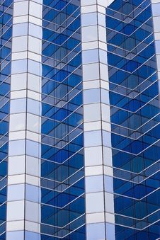 Blue And Grey Windows Royalty Free Stock Image