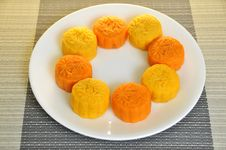 Free Mooncakes 14 Royalty Free Stock Photo - 6333895