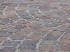 Free Piazza Pavement Royalty Free Stock Photo - 6334045
