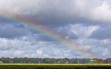 Free Rainbow Over Coast Stock Images - 6335114