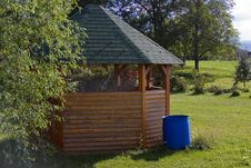 Free Garden Hut Royalty Free Stock Photo - 6335465