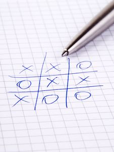 Free Tic-Tac-Toe Royalty Free Stock Image - 6335586