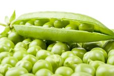 Free Fresh Pea Pods Stock Images - 6335844