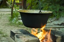 Free Soup Preparation In Nature Stock Photo - 6335850