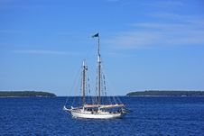 Free Wooden Sailboat Royalty Free Stock Photography - 6335987
