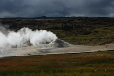 Free The Volcano In Iceland Royalty Free Stock Photography - 6336007