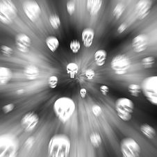 Free Skull Background Stock Photo - 6336030