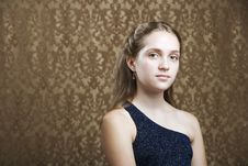Free Confident Young Girl Royalty Free Stock Images - 6336409