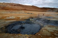 Free The Volcano In Iceland Stock Images - 6336734