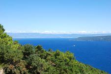 Adriatic Sea Bay Stock Photography