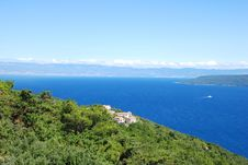 Adriatic Sea Bay Royalty Free Stock Images